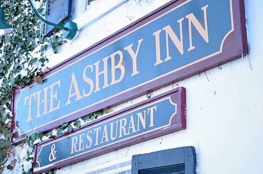 Ashby Inn sign