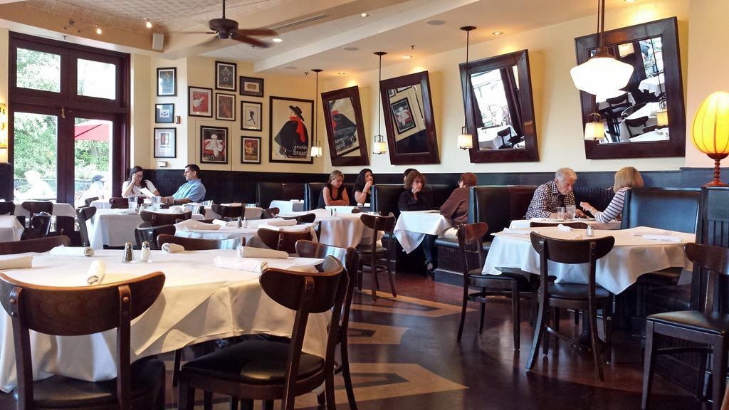Cafe Deluxe Tysons Dinner Menu