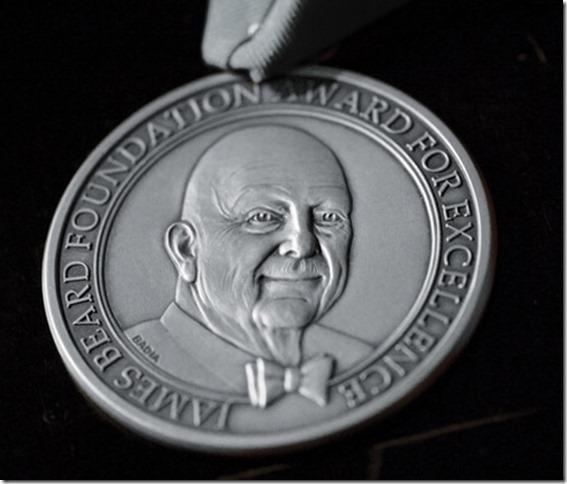 JBF Award Medallion
